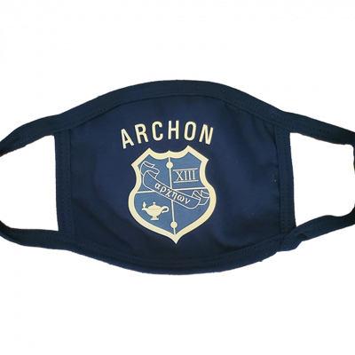 Acrhon Black Logo Mask